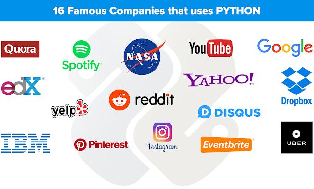 company uses python