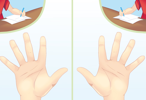 Cara Membaca Karakter Seseorang Melalui Garis Tangan (Palmistry) 2_