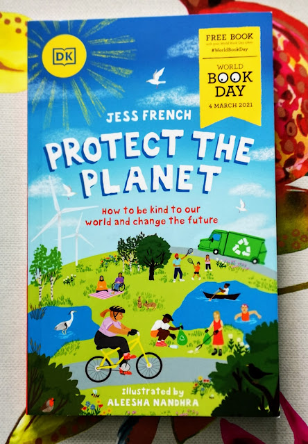 Front Cover of Protect The Planet by Jess French World Book Day 2021 £1 Book.