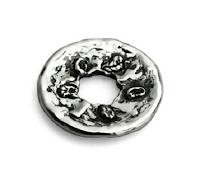 Logo Vinci gratis un elegante Bead in argento