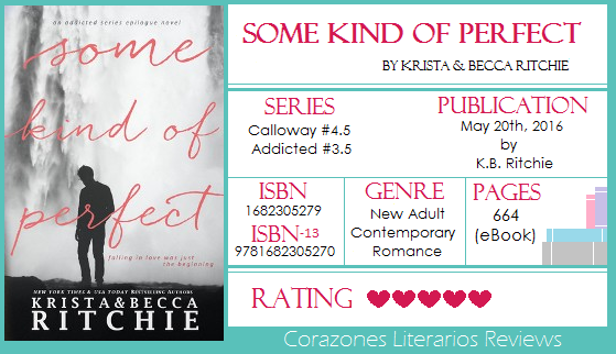 #BookReview: Some Kind of Perfect by Krista and Becca Ritchie