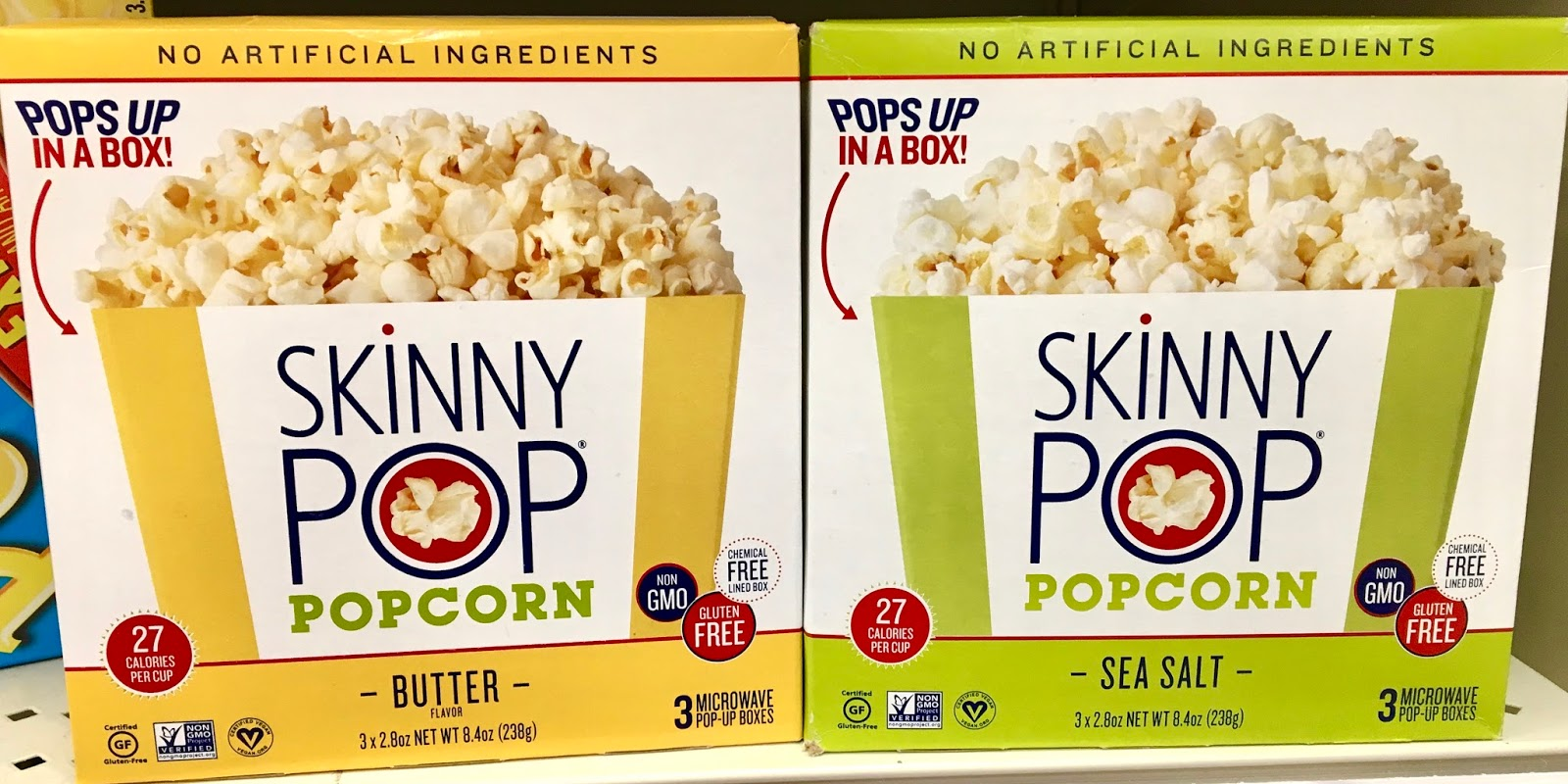 The Gluten & Dairy-Free Review Blog: SkinnyPop Microwave