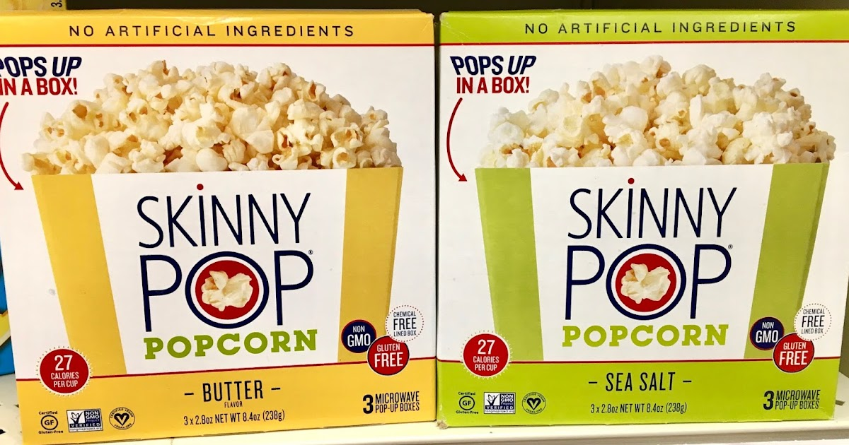 skinnypop microwave popcorn review