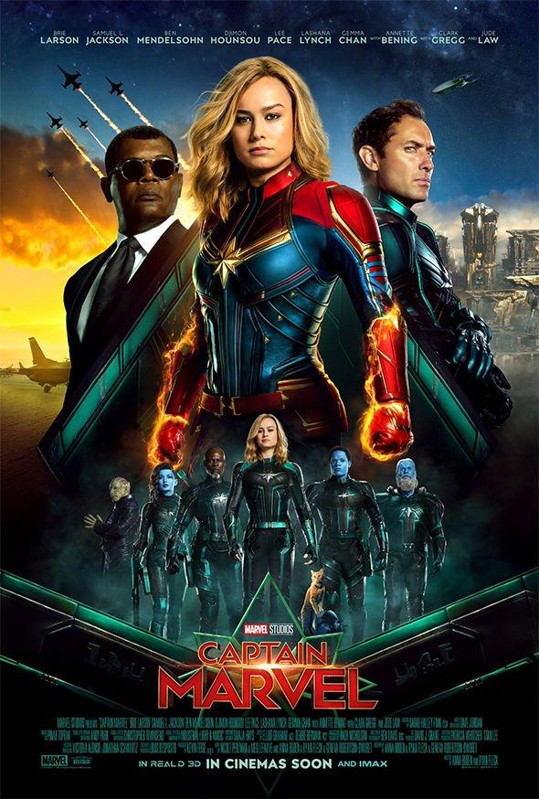 Captain Marvel (2019) 1080p    720p   480p BluRay [Hindi (ORG) – English] Download