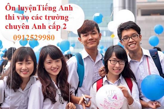 Khai giảng liên tục các lớp luyện thi vào chuyên ngữ cấp 2 - Cô Hà Nhung ..
