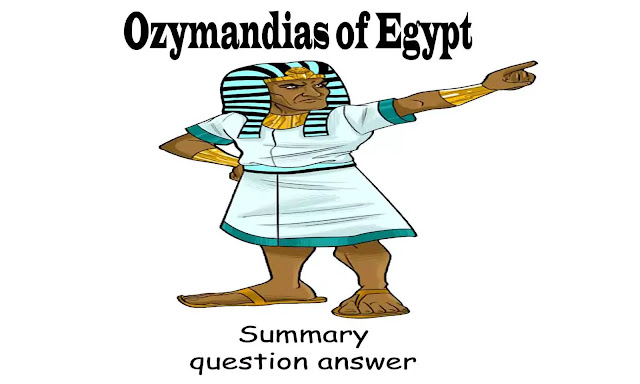 Ozymandias questions and answers