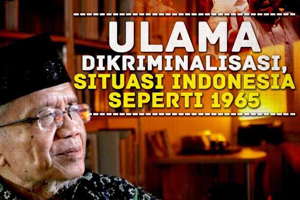 Taufiq Ismail Sebut Kriminalisasi Ulama Mirip Tahun 1965