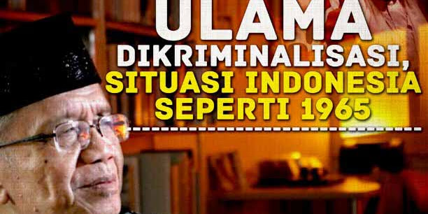 Umat Islam di Rezim Jokowi Terus Dipojokkan dan Difitnah