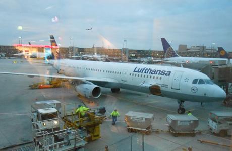 Lufthansa, Aeropuerto de Frankfurt