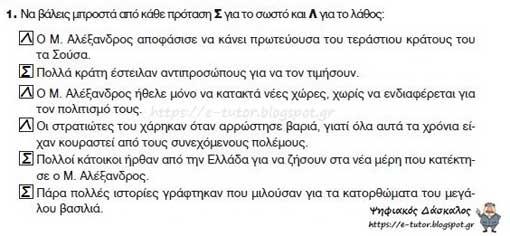 Ο θάνατος του Μ. Αλεξάνδρου - Κλασσικά χρόνια - από το «https://e-tutor.blogspot.gr»