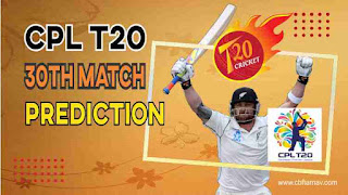 Trinbago Knight Riders vs St Kitts And Nevis Patriots CPL T20 30th Match 100% Sure Match Prediction CPL 2021