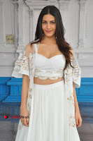 Telugu Actress Amyra Dastur Stills in White Skirt and Blouse at Anandi Indira Production LLP Production no 1 Opening  0129.JPG