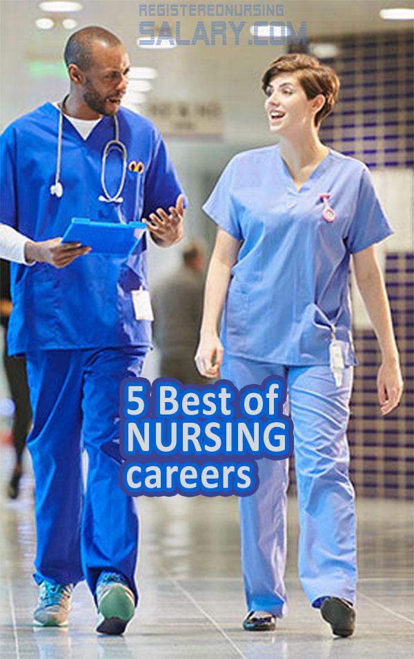 list of nursing careers