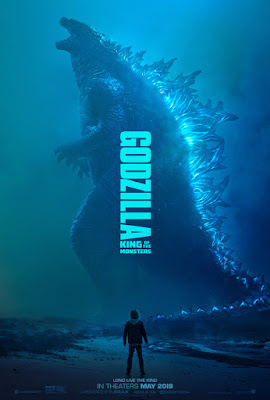 Warner Bros Godzilla King of Monsters Movie Poster