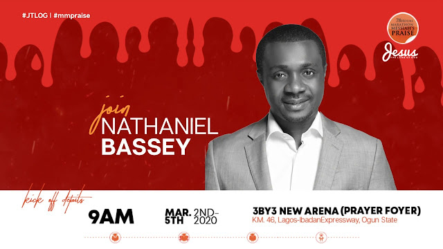 Watch Nathaniel Bassey Ministration At 78 Hours Marathon Praise 2020