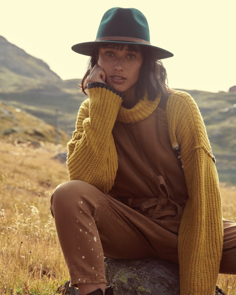 Lydia Graham fronts Free People holiday 2019 campaign