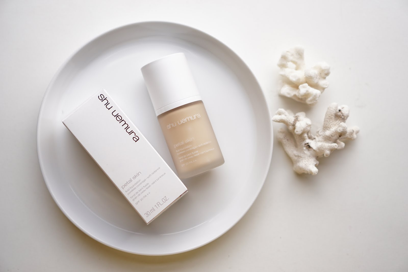 Shu Uemura Petal Skin Liquid Foundation Vs Petal Skin Cushion
