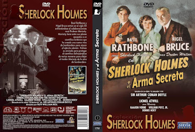 Carátula dvd: Sherlock Holmes y el arma secreta / Sherlock Holmes and the Secret Weapon / Download /