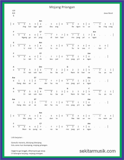 not angka mojang priangan lagu daerah jawa barat