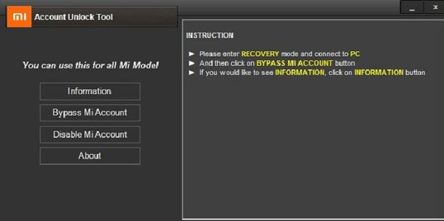 download mi account unlock tool/ hapus mi cloud verfication dengan mudah