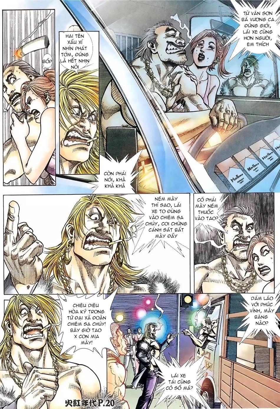 Hỏa Hồng Niên Đại Hắc Cốt Đường chap 112 - Trang 18