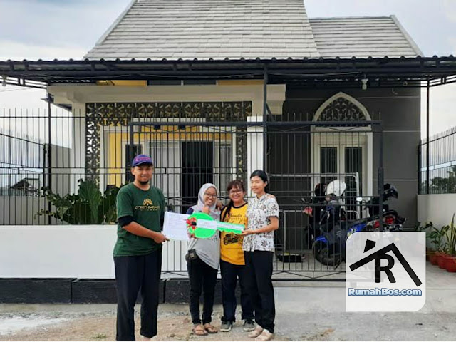Serah terima unit Green Gayam Village Tahap 1