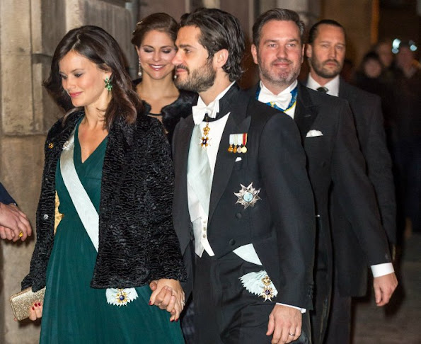 Queen Silvia of Sweden, Crown Princess Victoria of Sweden and Prince Daniel of Sweden, Prince Carl Philip and Princess Sofia of Sweden, Princess Madeleine of Sweden and Mr Christopher O'Neill
