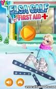 العاب بنات تلبيس باربي - لعبة Elsa Calf First Aid