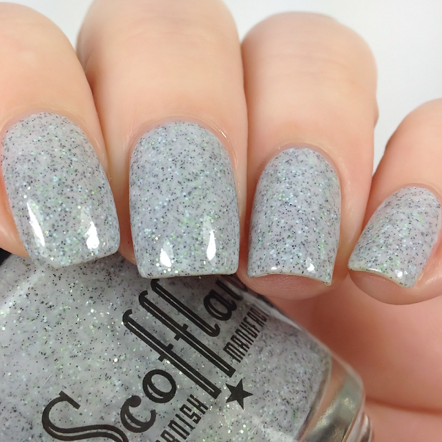 Scofflaw Nail Varnish-Gray Goose