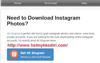 Cara Download Semua Foto diInstagram