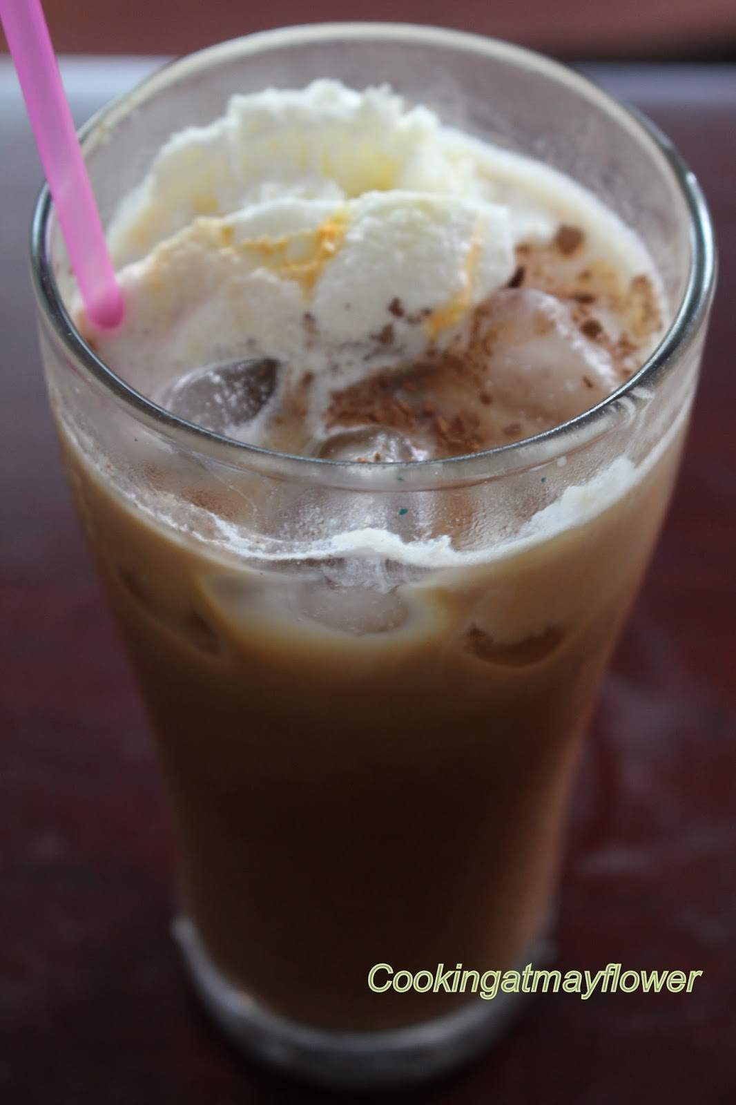 how to make iced coffee milkshake