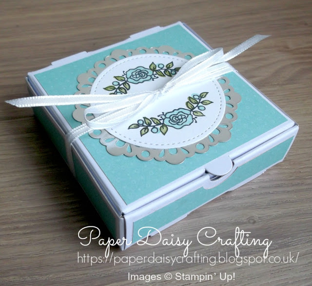 Lots of lavender mini pizza box from Stampin' Up!