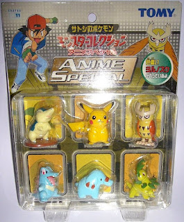 Pokemon figure Tomy Monster Collection Anime Special Set