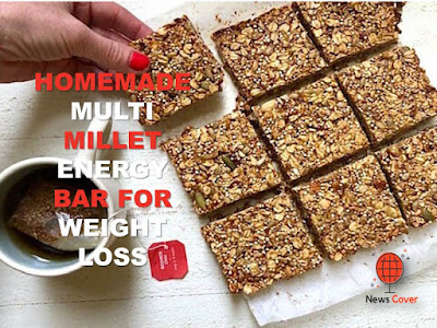weight management, simple meal plan to lose weight, News cover, the news cover, Health, Homemade multi millet energy bar