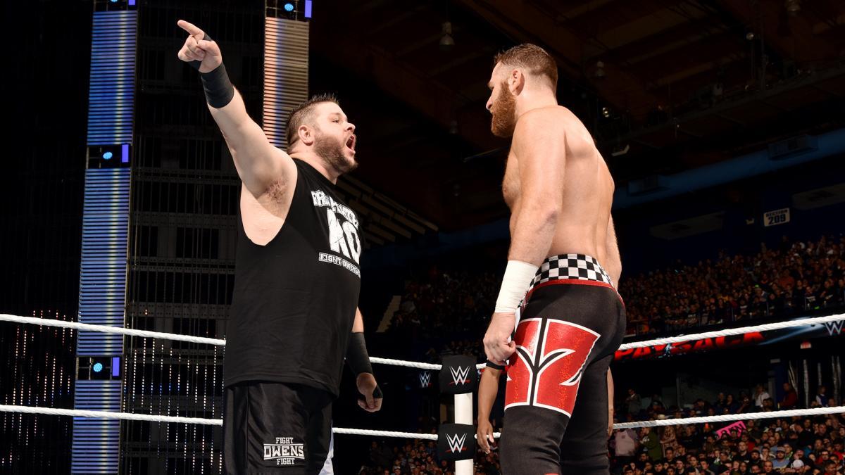 Kevin Owens enterrou Sami Zayn nos bastidores da WWE