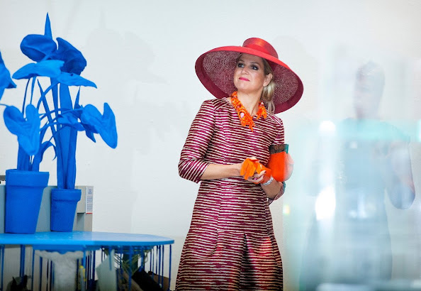 Queen Maxima opens design derby Netherlands - Belgium
