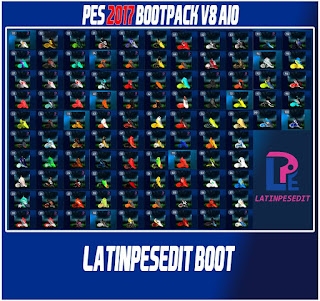 PES 2017 Bootpack V8 Season 2017-18 by LPE