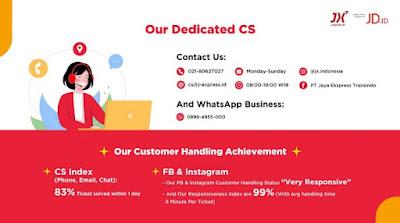layanan CS dari JX Indonesia