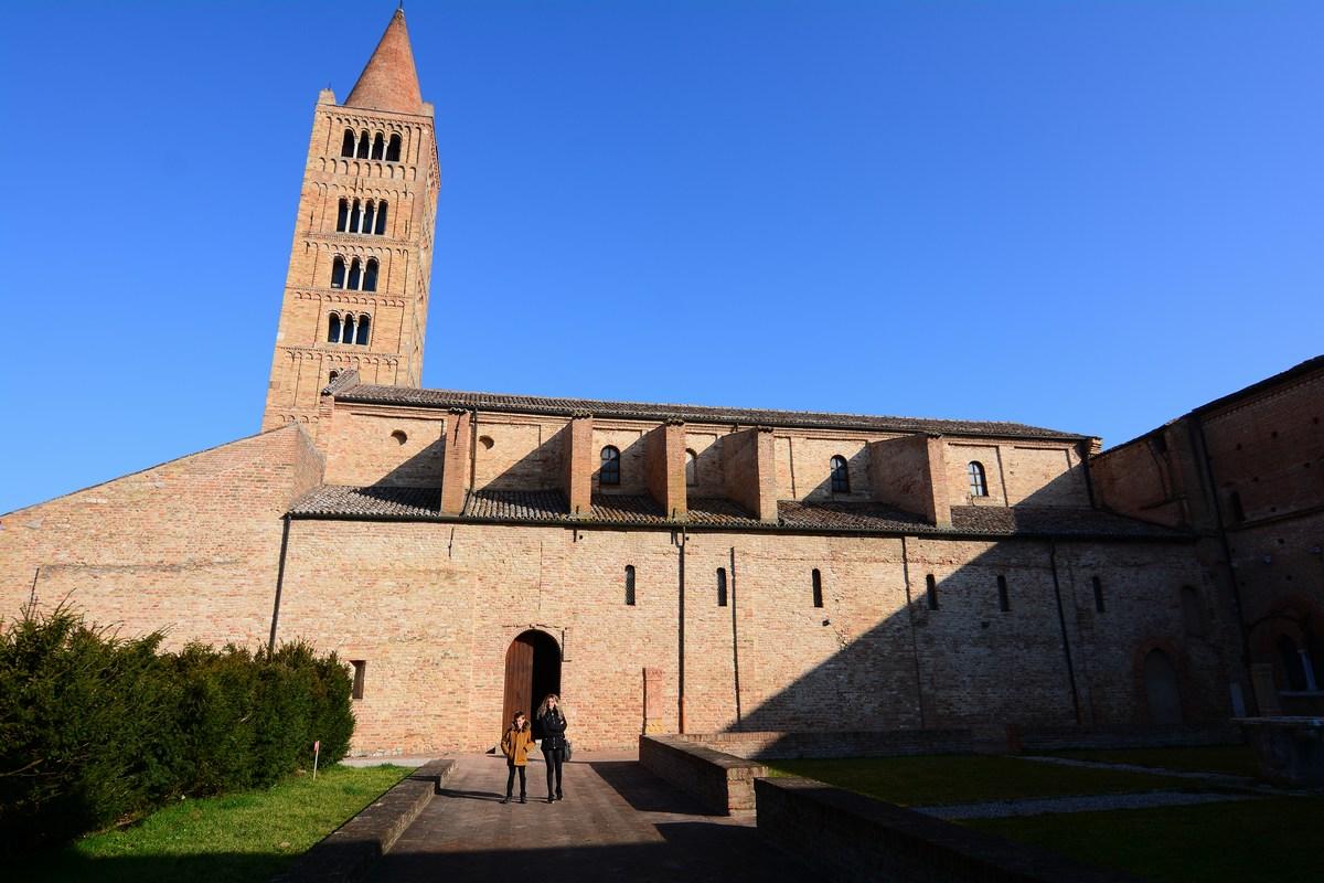 abbaye de Pomposa campanile