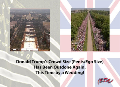 Donald Trump's Crowd Size (Penis/Ego Size)