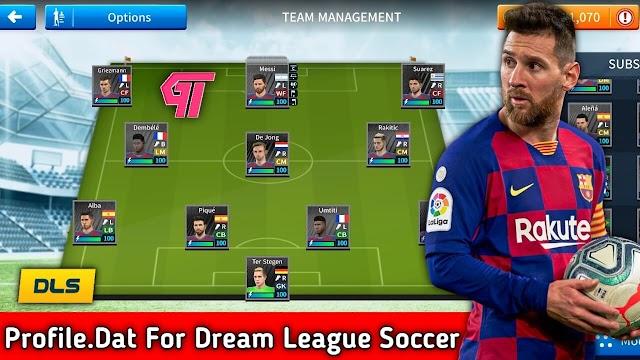 Profile.dat | Save Game Data | Dream League Soccer 2019