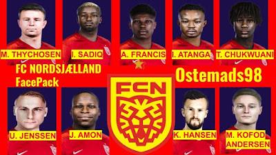PES 2021 Facepack FC Nordsjælland by Ostemads98