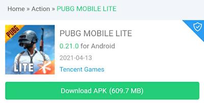 PUBG Mobile Lite 0.21 0 APK download link