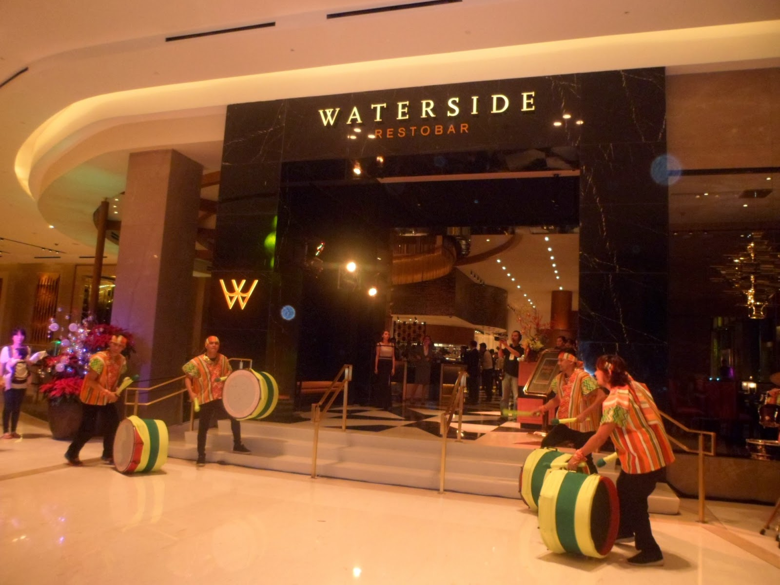 Waterside Restobar at Solaire Resort and Casino's Sky Tower