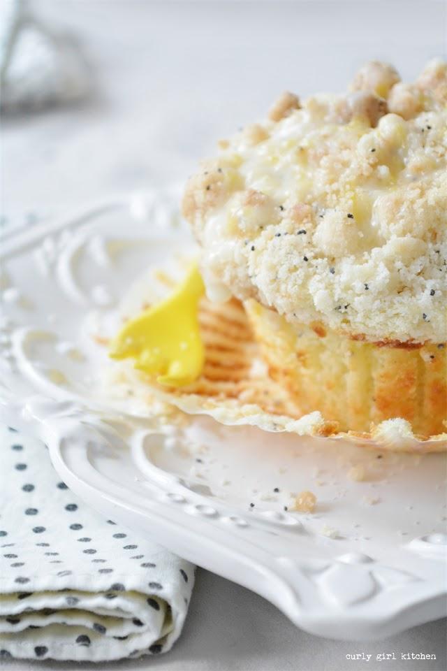 Lemon Poppyseed Muffins, Lemon Cream Cheese Muffins, Lemon Crumb Muffins, High Altitude Lemon Muffins, Lemon Breakfast Recipes, Lemon Pastries