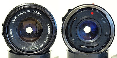 Canon New FD 50mm 1:1.8 #750