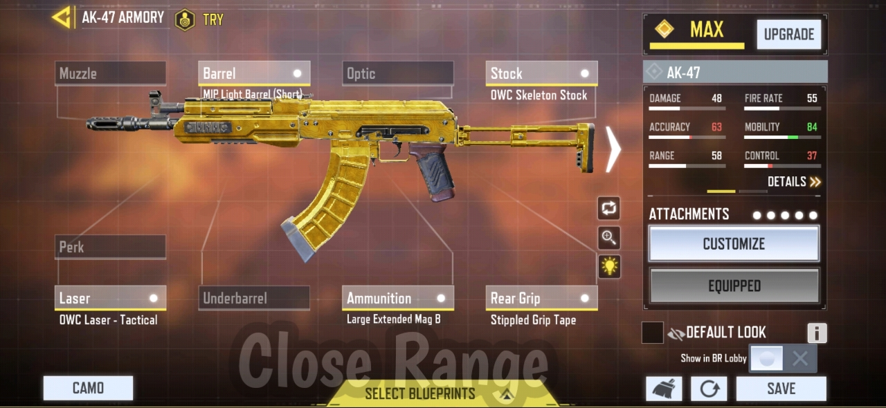 Ak-47 Close range Gunsmith
