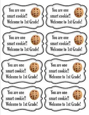 photograph regarding You're One Smart Cookie Printable referred to as Quickly Cute Instruction: Back again toward Faculty University student Present