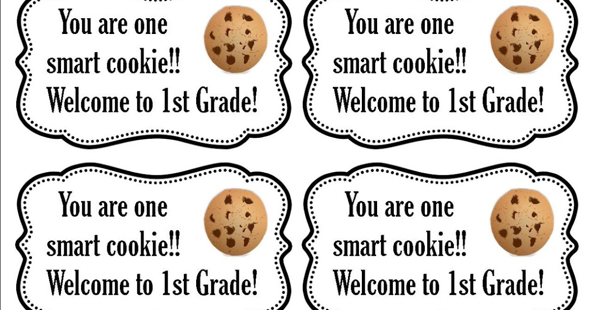 photo about One Smart Cookie Printable known as Your self Are Just one Good Cookie