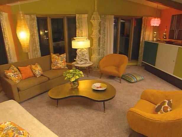 Decorating theme bedrooms - Maries Manor: Retro mod style ...